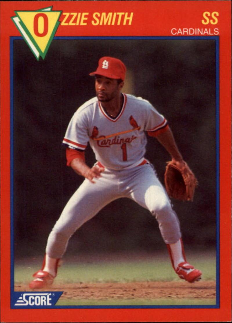 1989 Score Baseball's 100 Hottest Players