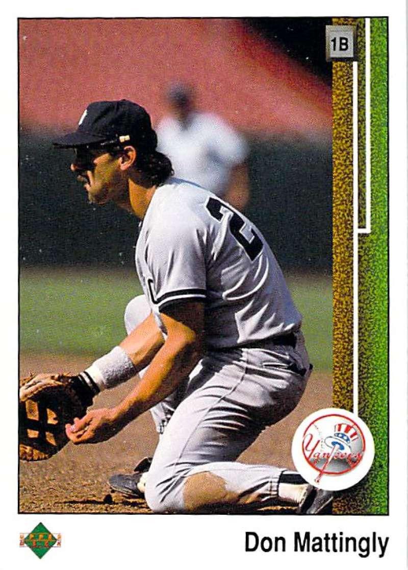 1989 Upper Deck #200 Don Mattingly NM-MT New York Yankees New York Yankees Baseball