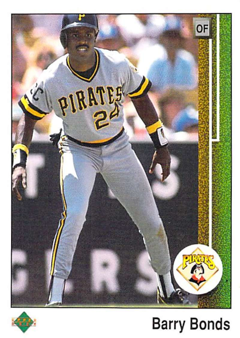 1989 Upper Deck #440 Barry Bonds NM-MT Pittsburgh Pirates Pittsburgh Pirates Baseball