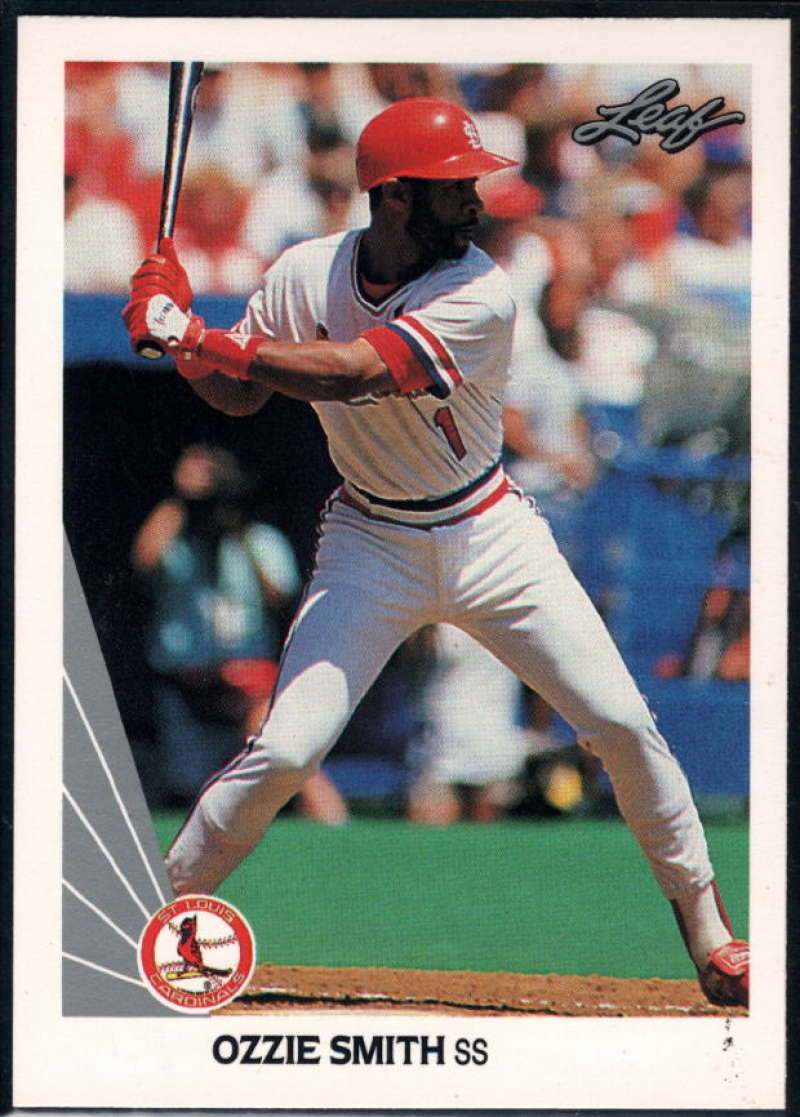 1990 Leaf #142 Ozzie Smith NM-MT St. Louis Cardinals