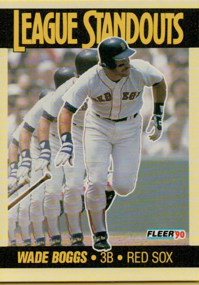 1990 Fleer  League Standouts