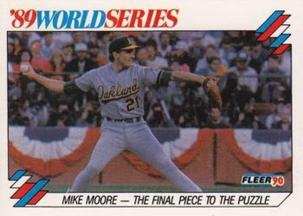 1990 Fleer  World Series