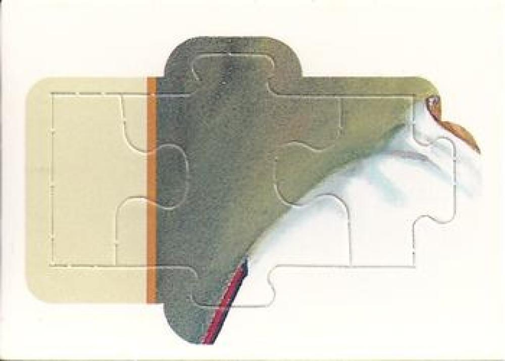 1990 Donruss  Carl Yastrzemski Puzzle No Decimals