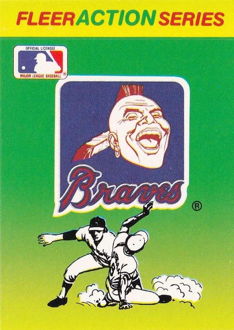 1990 Fleer  Action Series Team Stickers