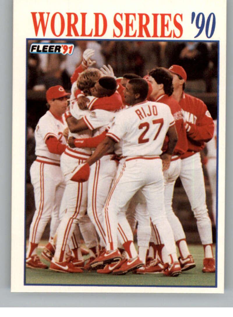 1991 Fleer  World Series