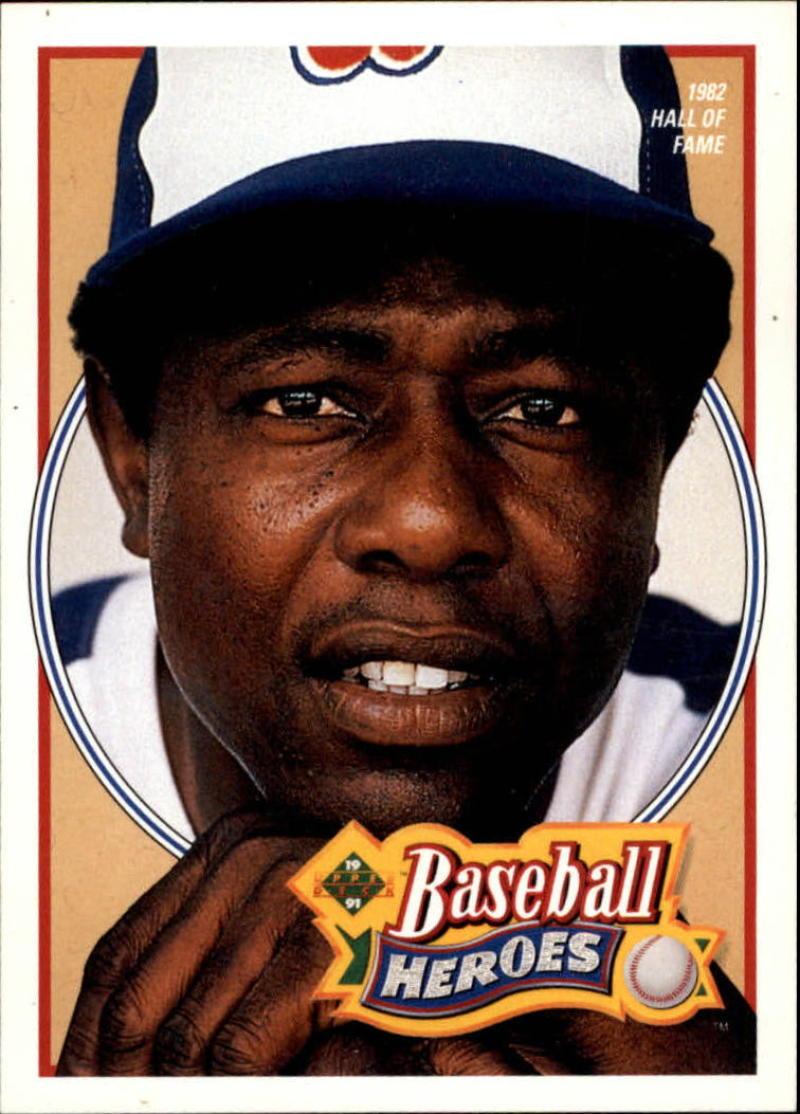 1991 Upper Deck  Hank Aaron Heroes