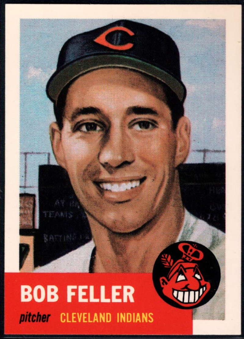 1991 Topps Archives 1953 #54 Bob Feller NM-MT+ Cleveland Indians
