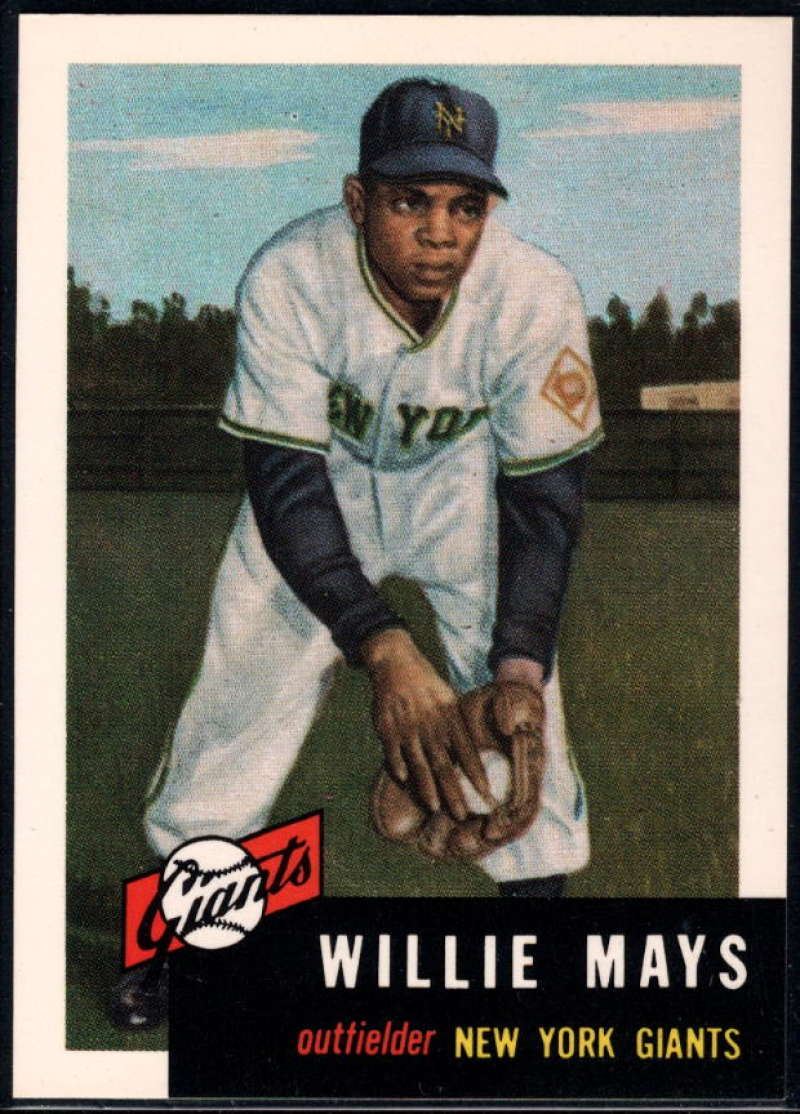 1991 Topps Archives 1953 #244 Willie Mays NM-MT+ New York Giants