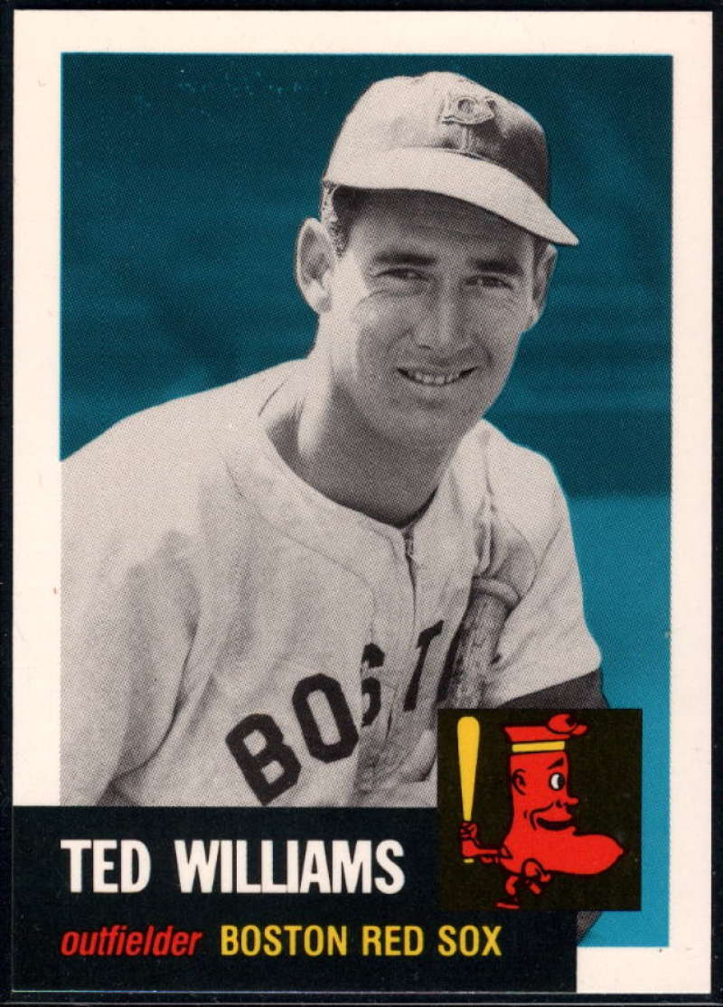 1991 Topps Archives 1953 #319 Ted Williams NM-MT+ Boston Red Sox