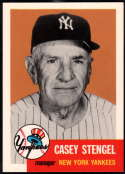 1991 Topps Archives 1953 Baseball #325 Casey Stengel New York Yankees MG  Official MLB Trading Card (Reprint of '53 Set)
