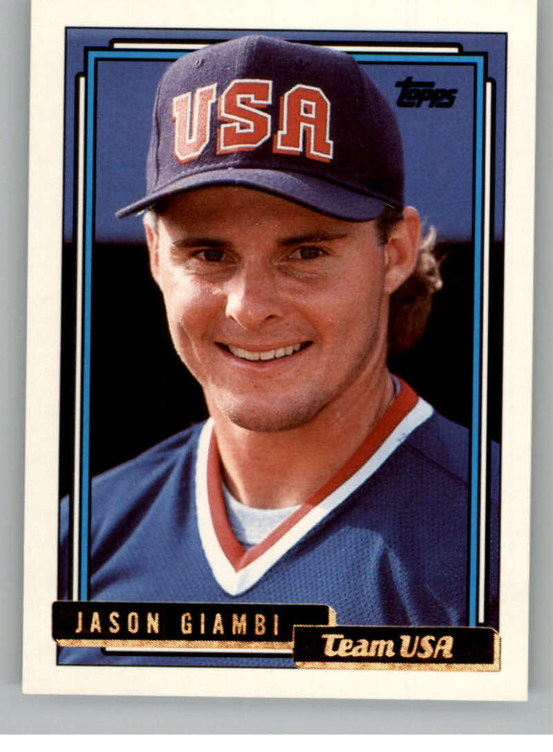 1992 Topps Traded Gold #40T Jason Giambi USA NM-MT