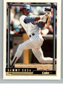 1992 Topps Traded Gold #109T Sammy Sosa NM-MT