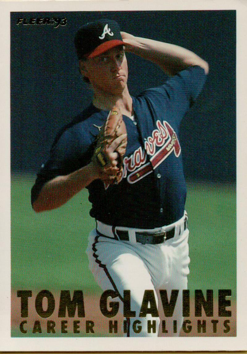 1993 Fleer  Career Highlights