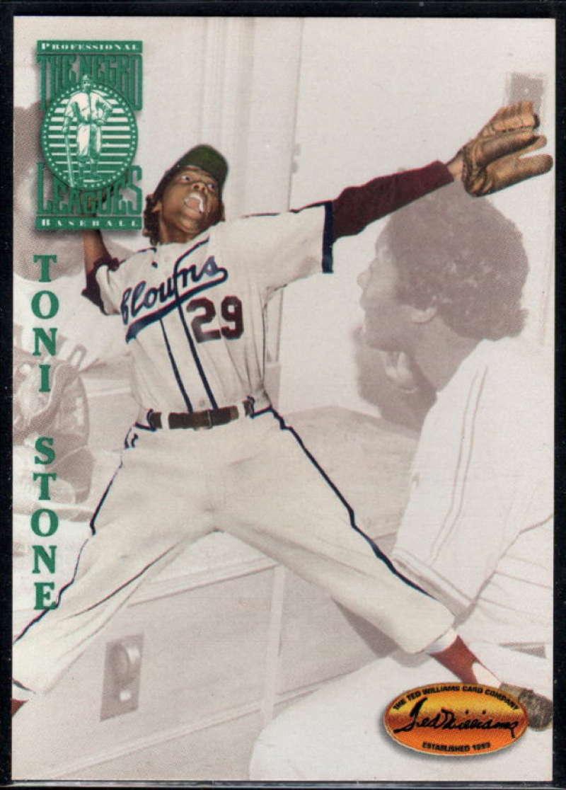 1994 Ted Williams Baseball #112 Toni Stone Indianapolis Clowns