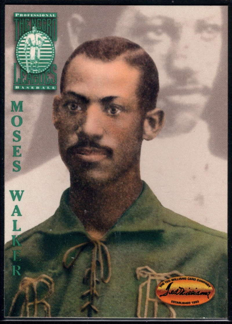 1994 Ted Williams Baseball #114 Moses Walker Toledo Blue Stockings