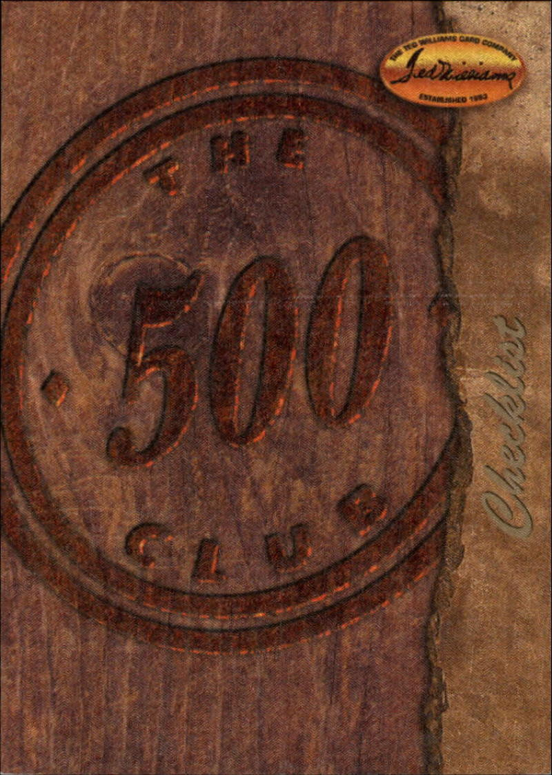 1994 Ted Williams  500 Club