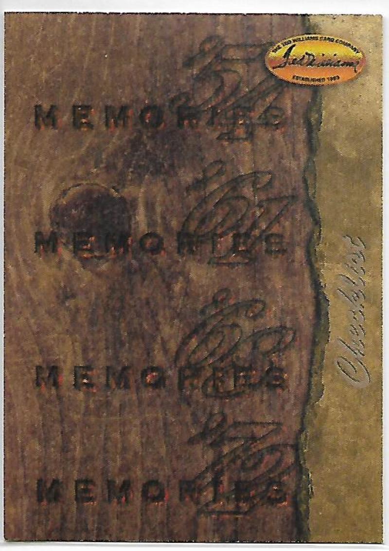 1994 Ted Williams  Memories