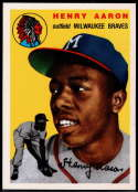 1994 Topps Archives 1954 Baseball #128 Hank Aaron Milwaukee Braves