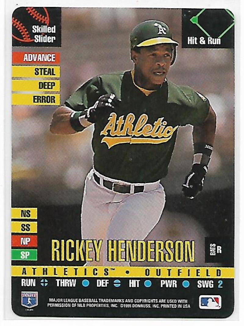 1995 Donruss Top of the Order