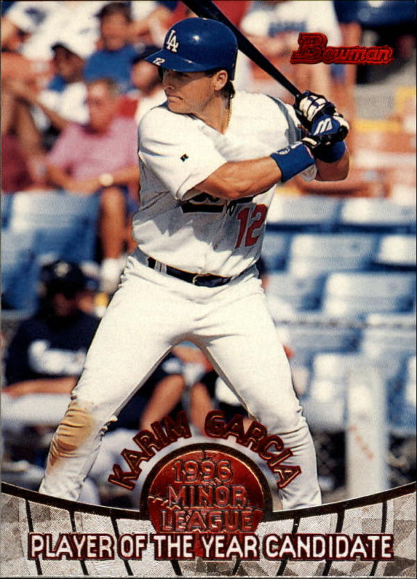 1996 Bowman  Minor League Player of the Year