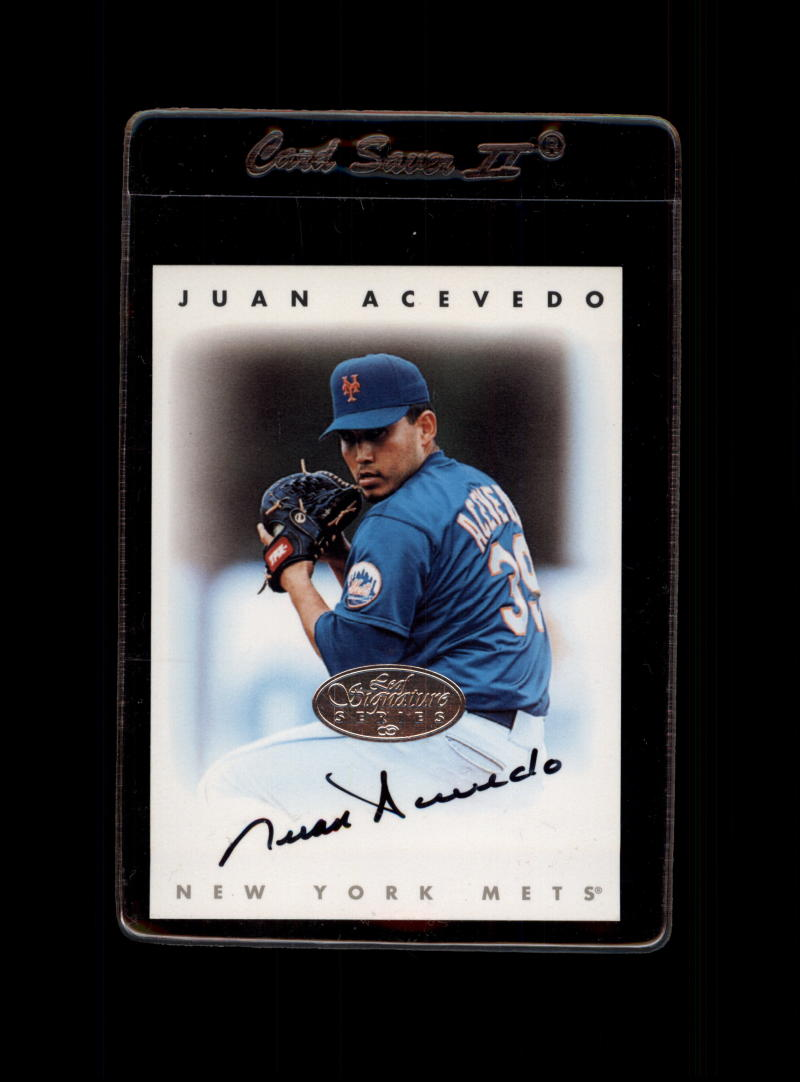 1996 Leaf Signature Series Autographs Silver