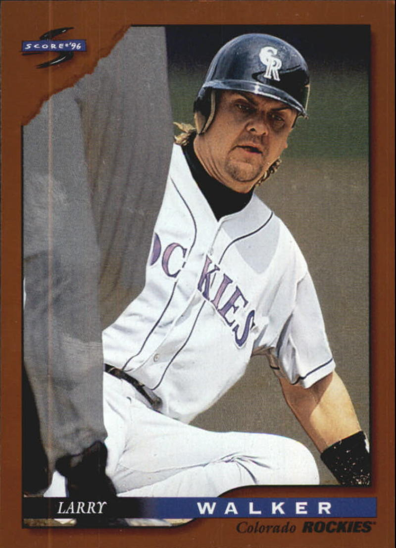 1996 Score  Dugout Collection Series 1