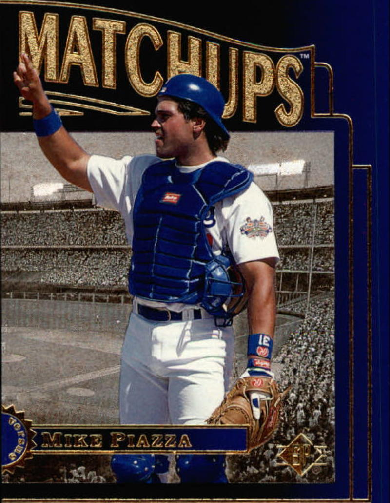 1996 SP  Marquee Matchups Blue