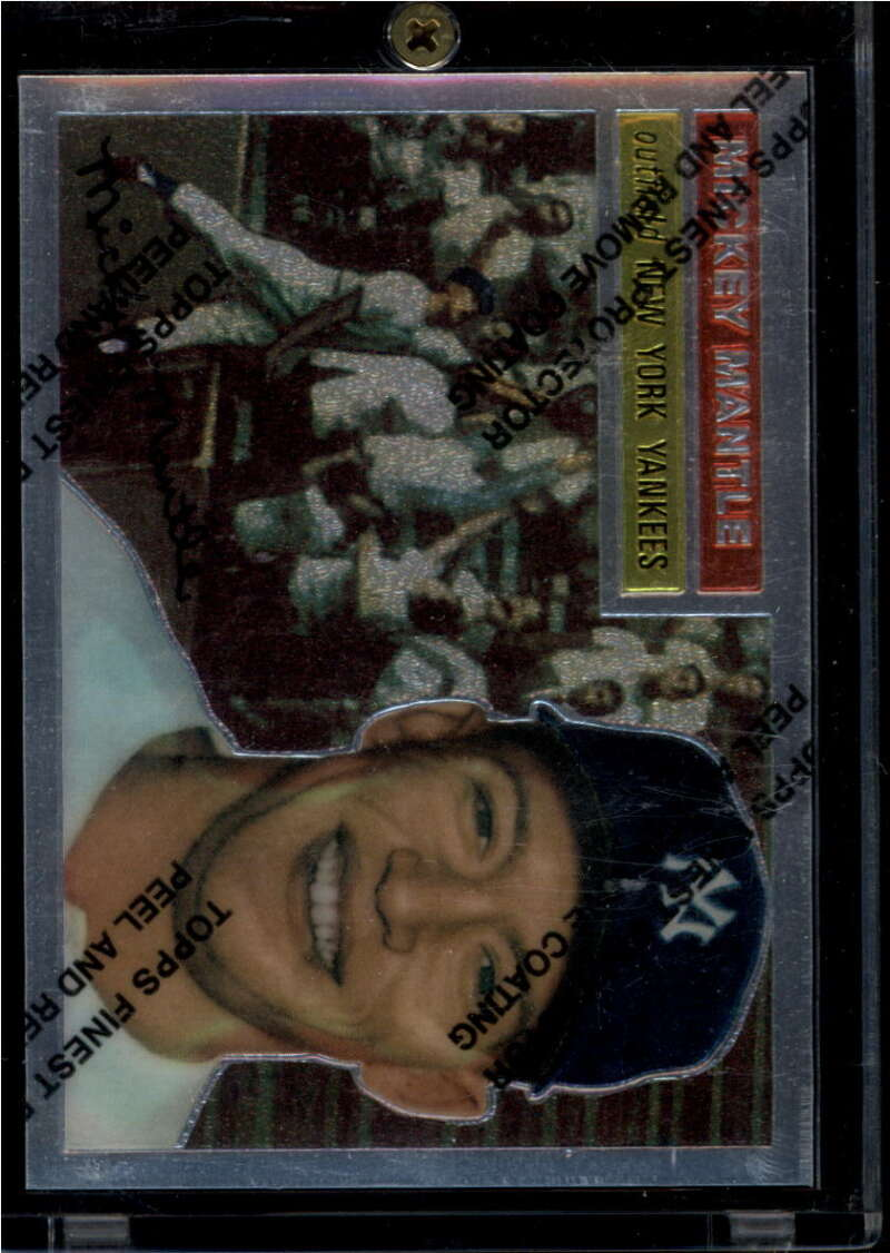 1996 Topps  Mickey Mantle Finest Refractors