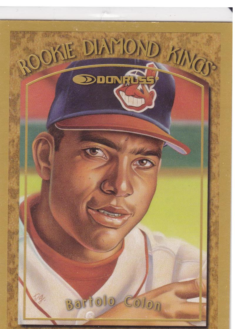 1997 Donruss  Rookie Diamond Kings Canvas