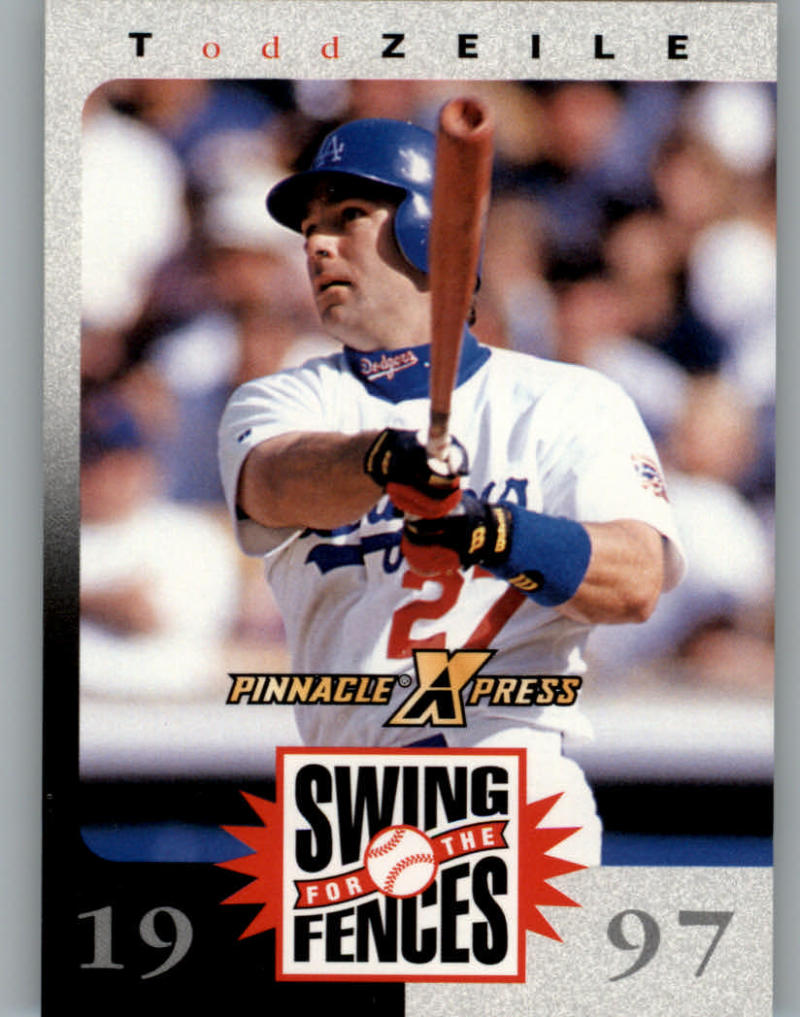 1997 Pinnacle XPress Swing for the Fences