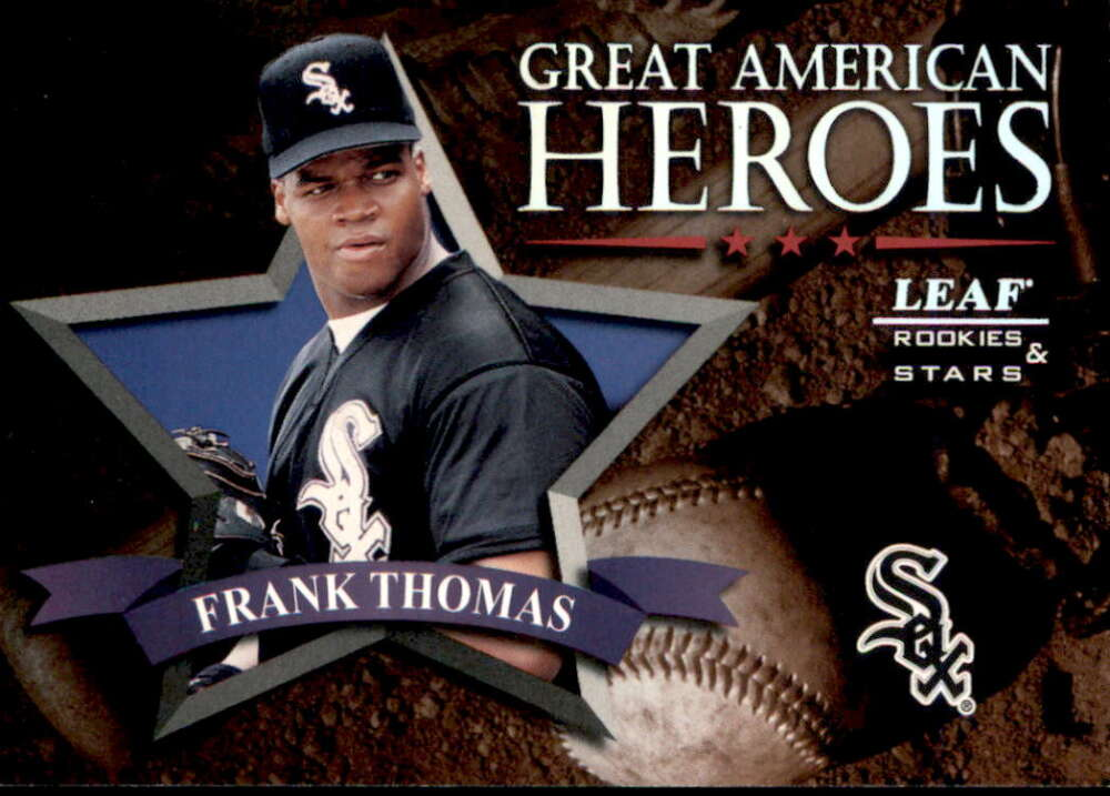 1998 Leaf Rookies and Stars Great American Heroes