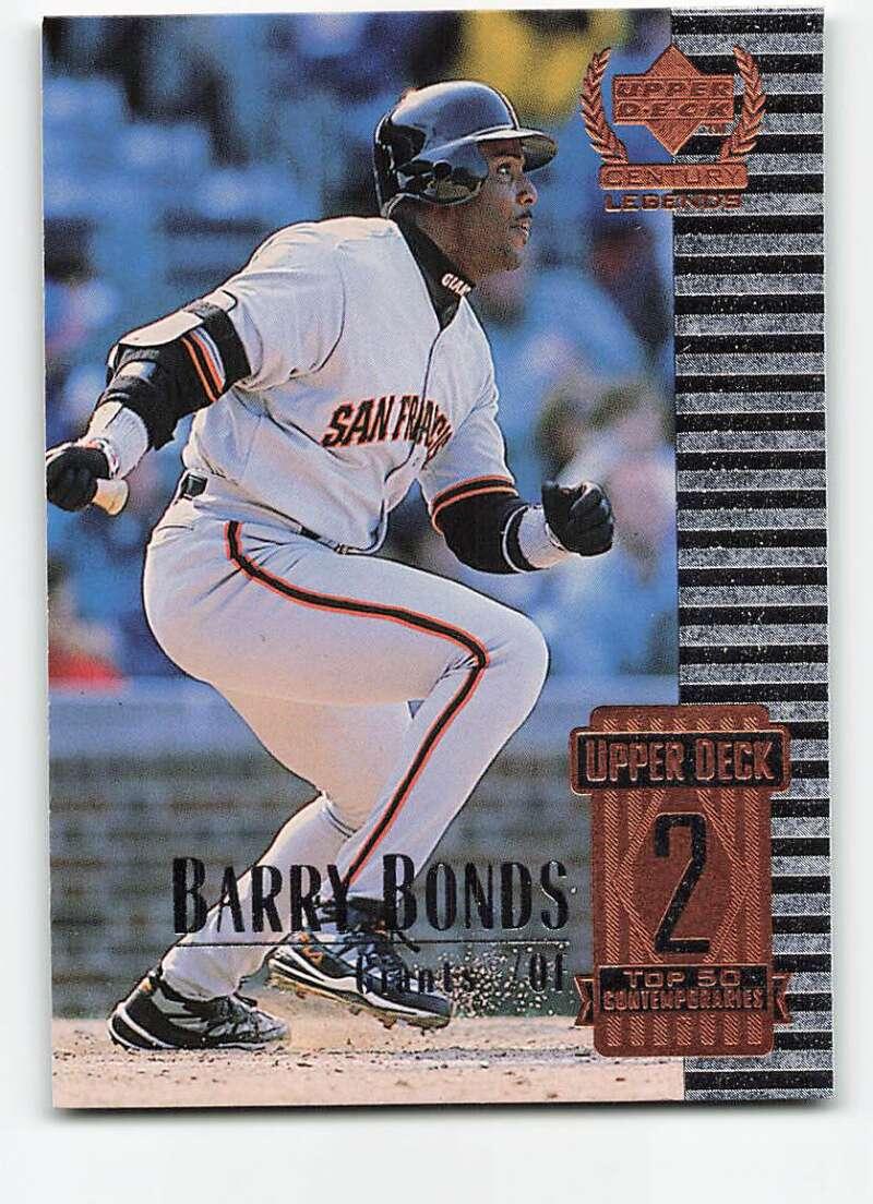 1999 Upper Deck Century Legends #52 Barry Bonds