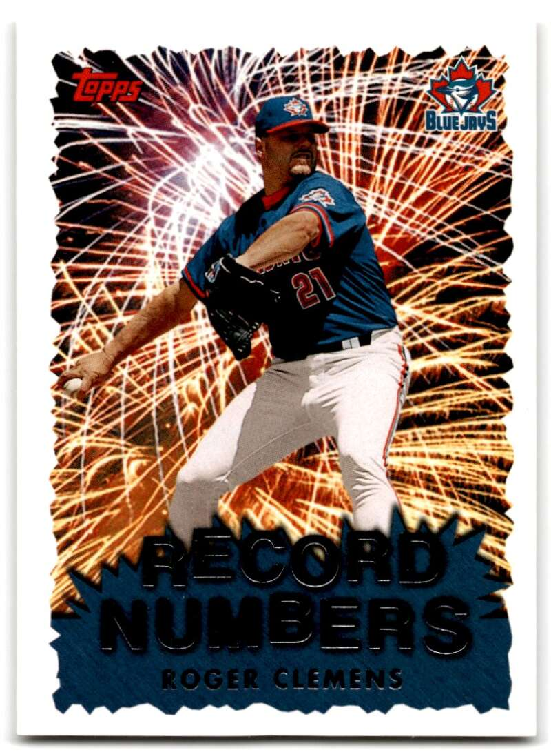 1999 Topps  Record Numbers