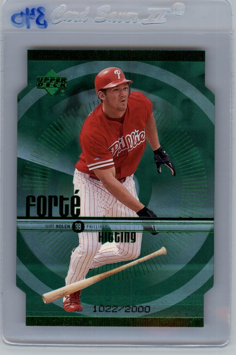 1999 Upper Deck  Forte Double