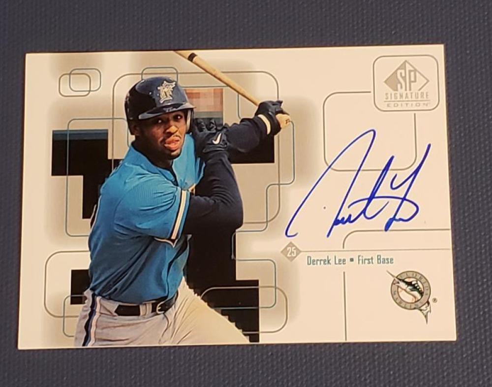 1999 SP Signature Autographs