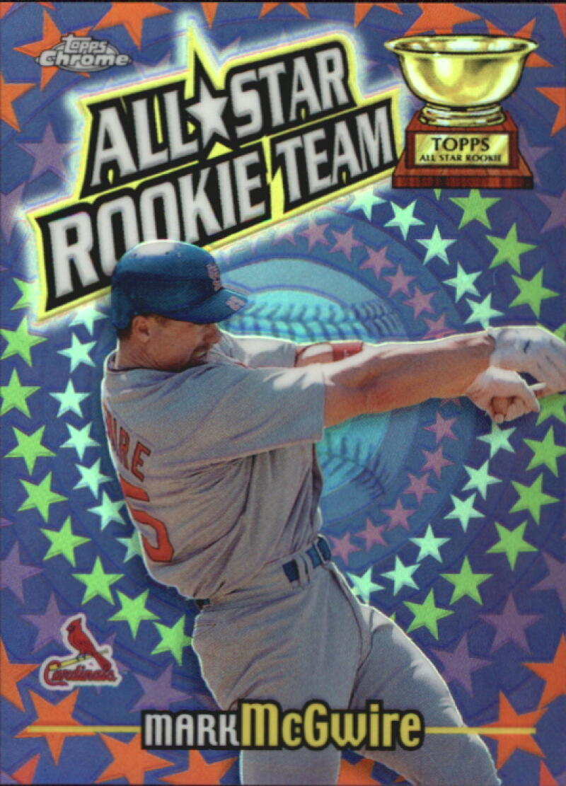 2000 Topps Chrome All-Star Rookie Team Refractors