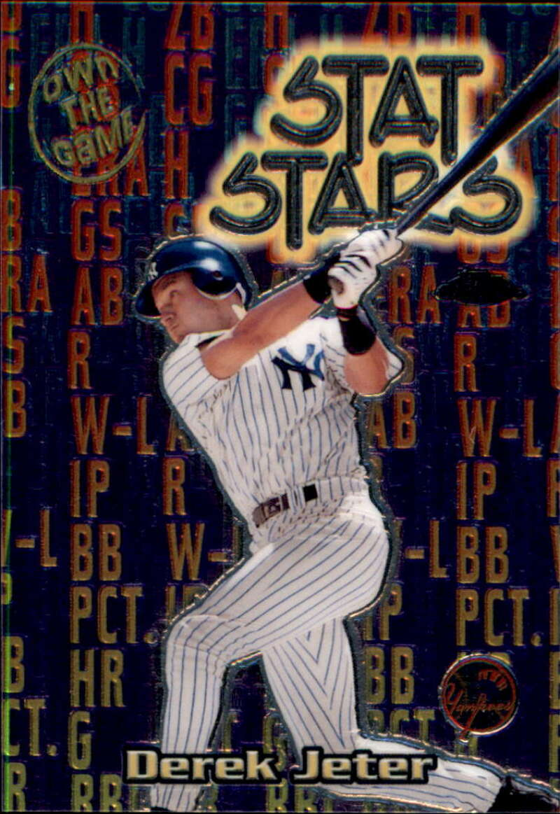 2000 Topps Chrome Own the Game