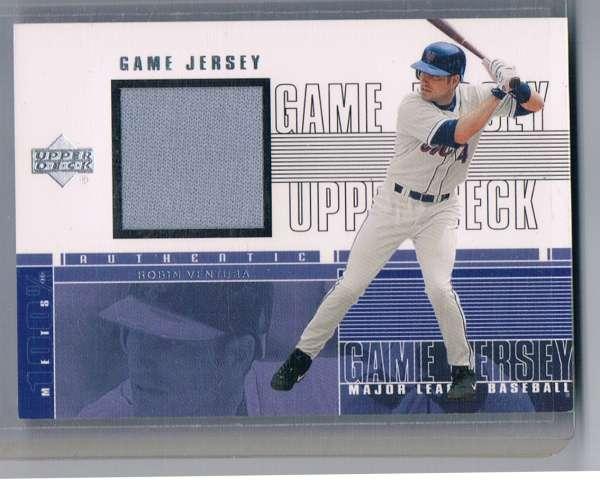 2000 Upper Deck  Game Jersey