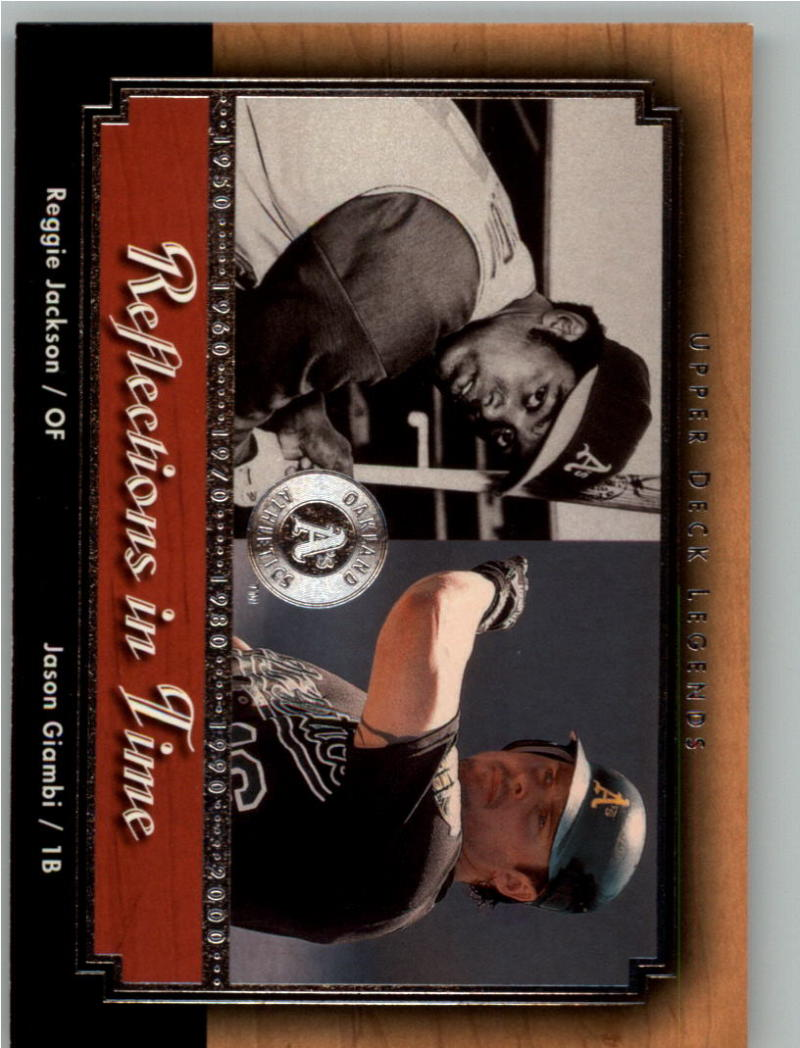 2000 Upper Deck Legends Reflections in Time