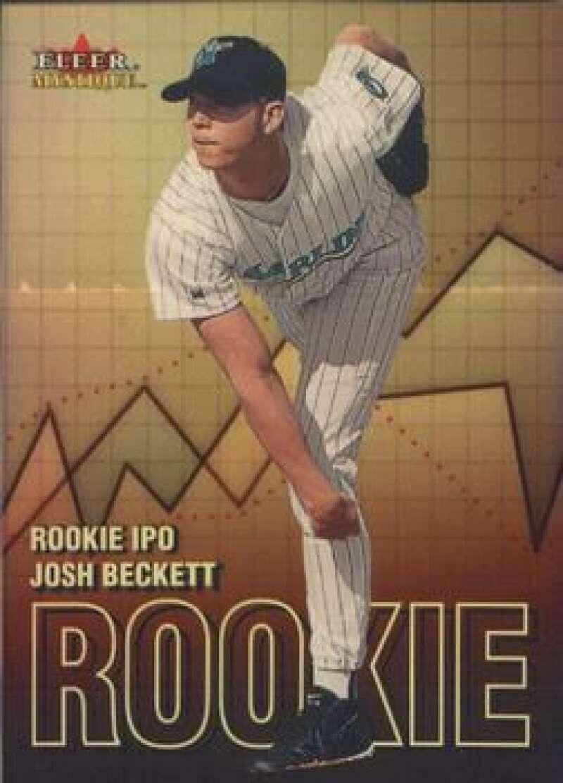 2000 Fleer Mystique Rookie I.P.O.