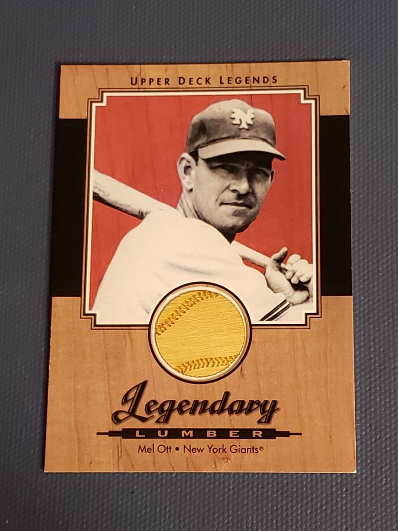 2001 Upper Deck Legends Legendary Lumber