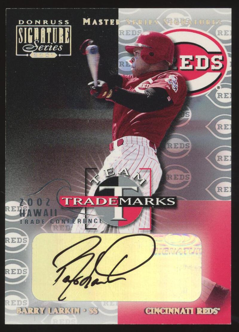 2001 Donruss Signature Hawaii Team Trademarks Master Series