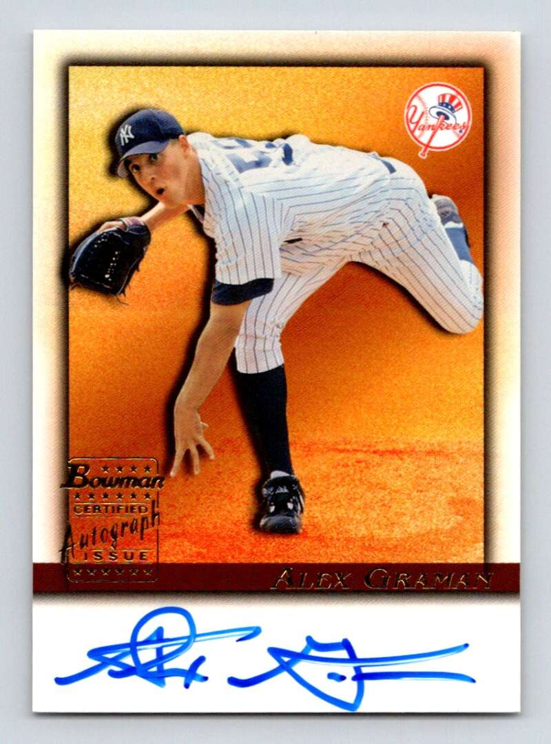 2001 Bowman  Autographs