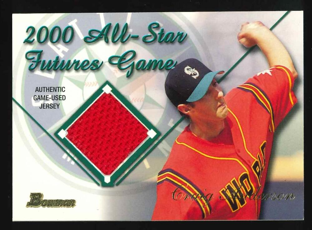 2001 Bowman  Futures Game Relics