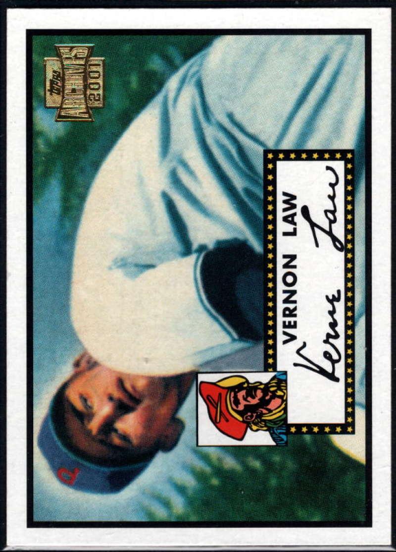 Baseball MLB 2001 Archives #7 Vernon Law 52 NM-MT Pirates