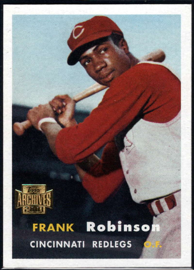Baseball MLB 2001 Archives #30 Frank Robinson 57 NM-MT Reds