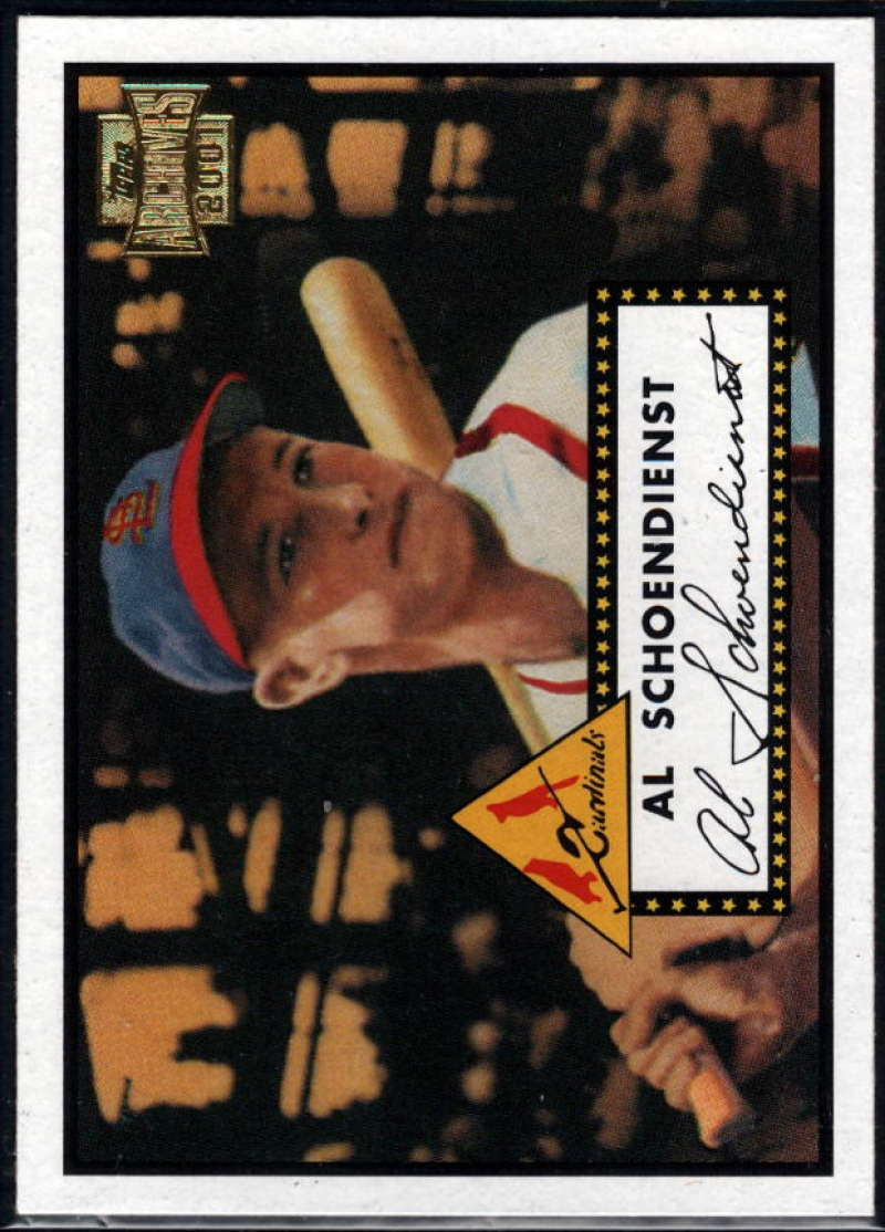 Baseball MLB 2001 Archives #237 Red Schoendienst 52 NM-MT Cardinals