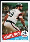Baseball MLB 2001 Archives #167 Greg Luzinski 85 NM-MT White Sox