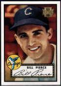 Baseball MLB 2001 Archives #234 Billy Pierce 52 NM-MT White Sox