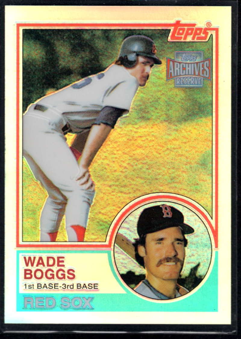 2001 Topps Archives Reserve #7 Wade Boggs 83 NM-MT+